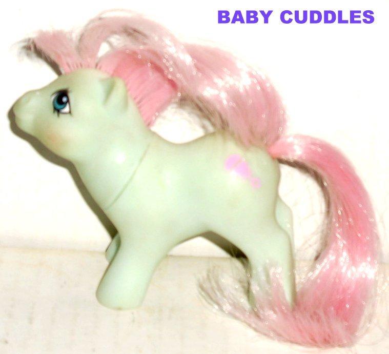 G1 Vintage 1985 My Little Pony MLP BABY CUDDLES