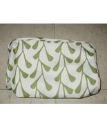 Clinique White Green Floral Travel Bag - $6.99