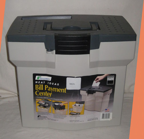 FELLOWES~ HOME OFFICE~ NEAT IDEAS~ BILL PAYMENT CENTER