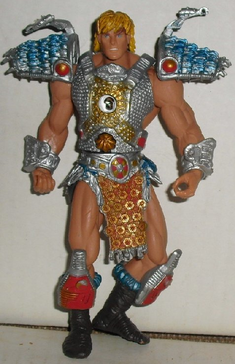 "MOTU Masters Universe HE-MAN figure 6.5"", 2002 Mattel"