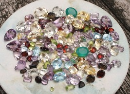 OVER 150 CARATS OF LOOSE NATURAL GEMSTONE MIX - $35.99