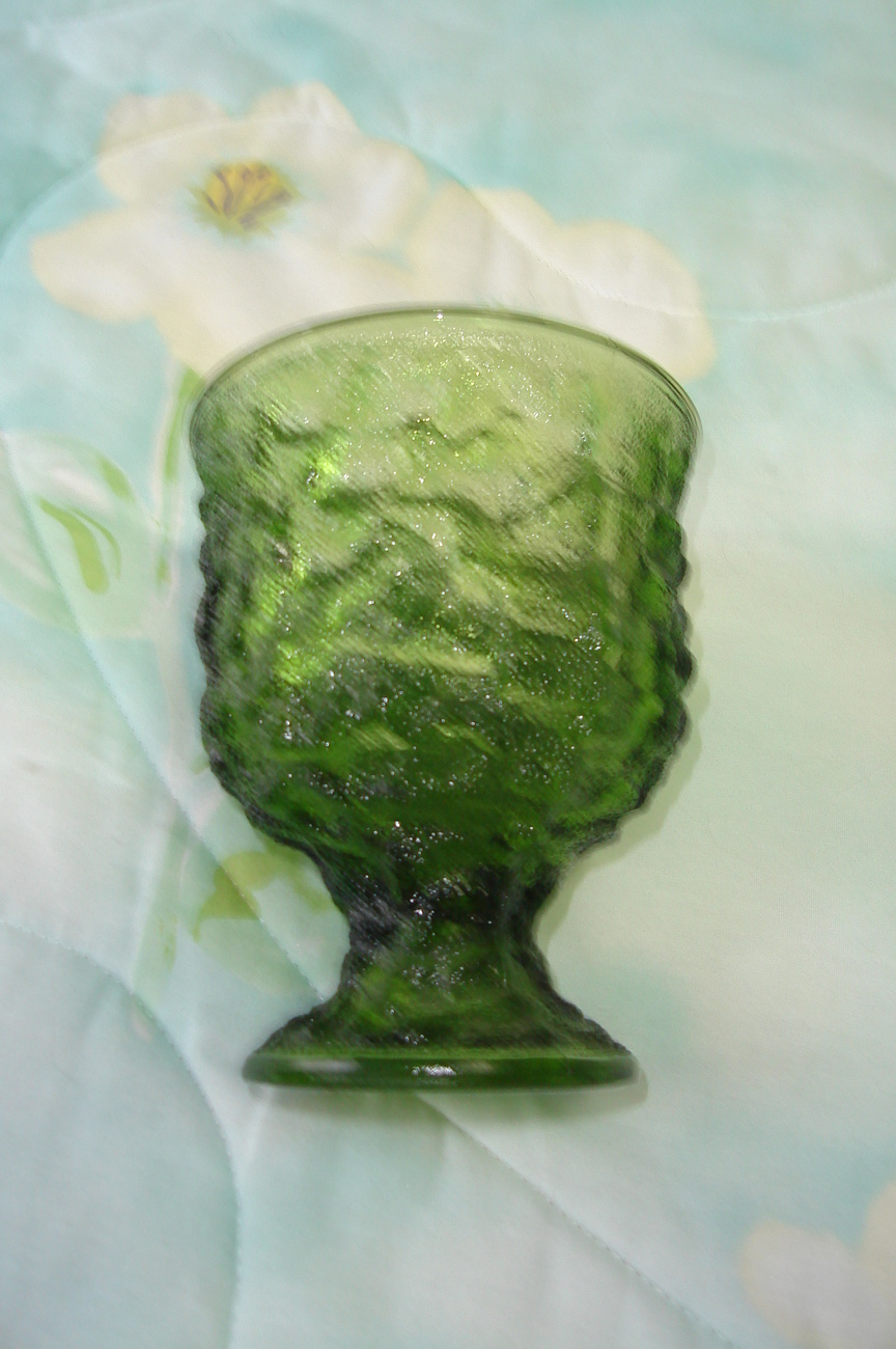 Forest green e.o. brody vase