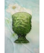 Forest Green Brody Vase - Depression - $7.00