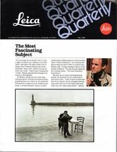 Leica Quarterly Magazine May 1982 - $2.50