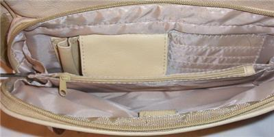 Genuine Leather Shoulder Bag, Purse, Handbag -3001-WINE
