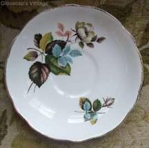 Old Royal Ascot Bone China Saucer White Rose #RT2001  - $5.00