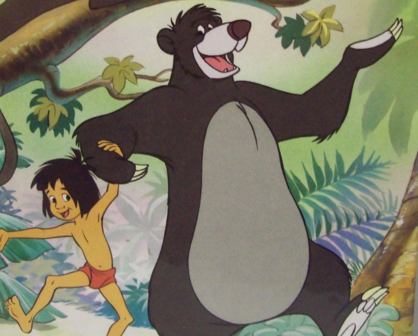 The Jungle Book - Hardcover - 1993 Walt Disney Productions - First American Ed.
