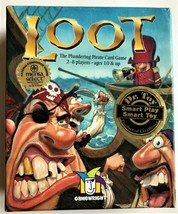 """""""Loot"""" The Plundering Pirate Card Game Gamewright 2005 Dr. Toy """"Smart To... - $6.44"""