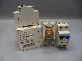 Circuit Breaker FAZ-1N-C16 Eaton Moeller Over current switch Lot of 2 - $40.18