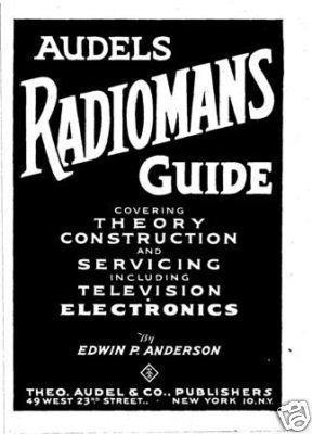 Audels Radiomans Guide on CD