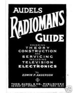 Audels Radiomans Guide on CD - $9.99