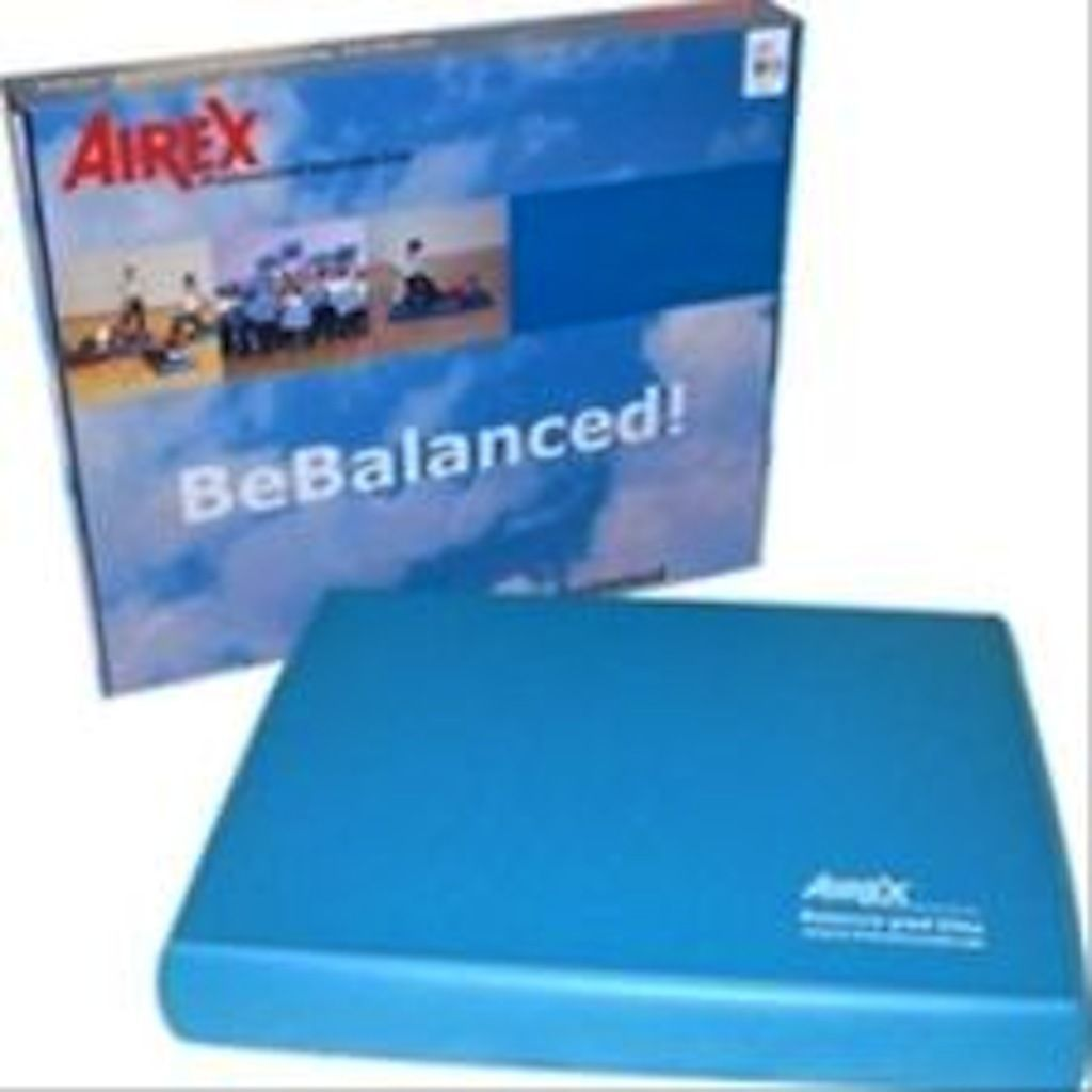 """AIREX Exercise & Balance Pad Support Mobility Pad 20"""" x 16"""" x 2.5"""" thick - Blue"""