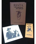 Riata & Spurs Book Charles Siringo Pinkerton Detective Agency Mining Wes... - $500.00