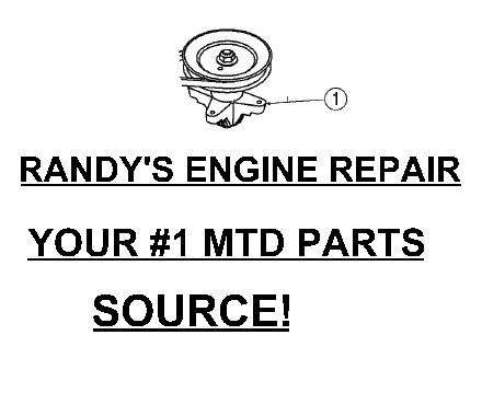 Primary image for SPINDLE PULLEY ASSEMBLY MTD 918-0624 618-0624 FITS +++