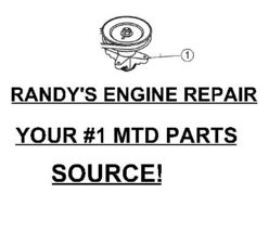 Spindle Pulley Assembly Mtd 918 0624 618 0624 Fits +++ - $99.99