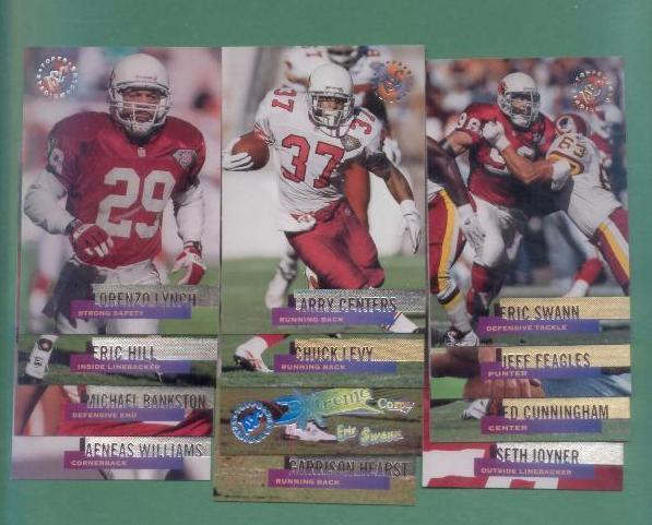 1995 Stadium Club Arizona Cardinals Football Team Set