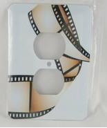 Outlet Cover 3d Rose A Film Strip Design 2 Plug Outlet Cover Multicolor - $9.89