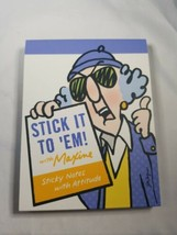 HALLMARK MAXINE STICK IT TO EM BOOK Sticky Notes With Attitude - $9.99