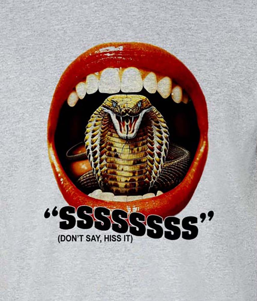 I  1973 american horror snake film t shirt graphic tee shirt for sale online store free shipping