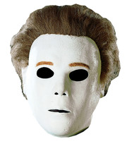 Deluxe Michael Myers Halloween The Shape Adult Latex Full Over Head Mask  - £41.69 GBP