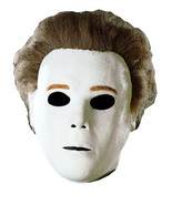 Deluxe Michael Myers Halloween The Shape Adult Latex Full Over Head Mask  - £42.62 GBP