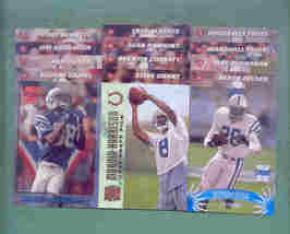 1996 Stadium Club Indianapolis Colts Football Team Set - $5.00