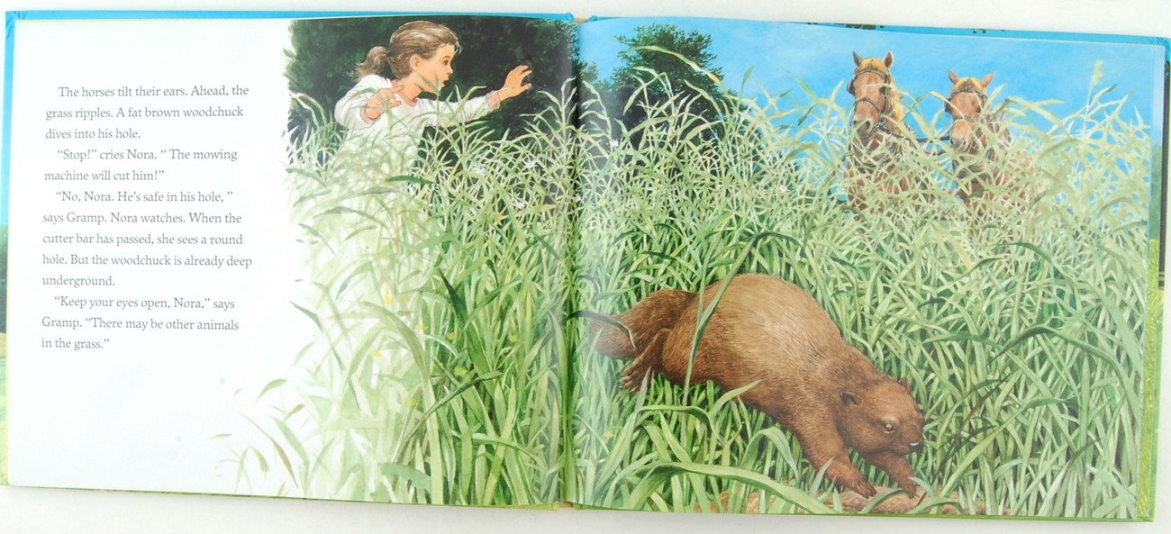 Mowing Jessie Haas Jos A Smith Signed by Author & Illustrator First Edition