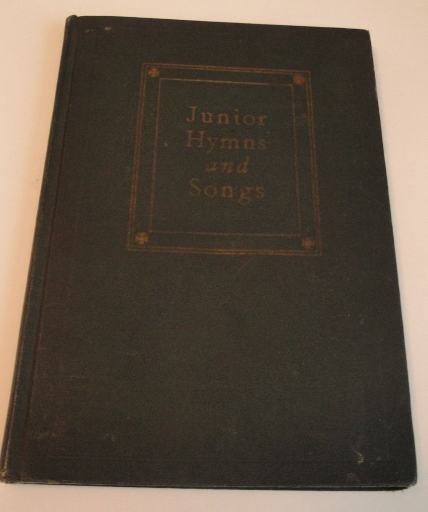 Junior Hymns and Songs Elizabeth McE. Shields  1927 Copyright
