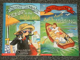 2 The Adventures of Minnie and Max books by Patricia Reilly Giff  - $1.50