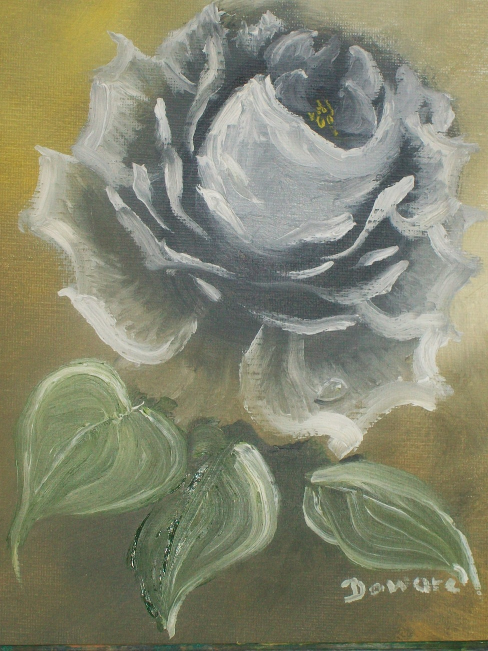 Sepia color rose