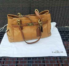 COACH Leather Hand bag CAMEL  color 18955 - $38.00