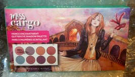 Cargo Cosmetics Miss Cargo Venice Enchantment 8 Pan Glitter Eyeshadow Pa... - $12.38