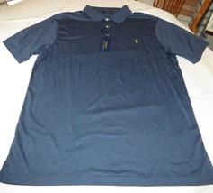 Mens Polo Ralph Lauren short sleeve polo short 2XLT Navy Heather 480007 NWT - $57.16