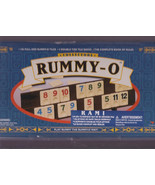 Rummy-O Collector Edition 106 Tile Game Rule Book Numbers Addition - $35.00