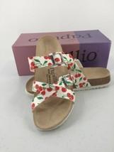 Papillio Birkenstock Cherry Women 6.5 7 Sandals Print Birko Flor Leather New - $56.09