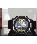 Pre-Owned Men's Black & Lime Armitron 40/8260 Digital Quartz Watch - $15.84