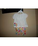 Girls Miniwear Floral Spring Summer Set Size 12 Months - $2.25