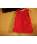 Girls Baby Gap Pink Corduroy Jumper Dress 12-18 Months - $1.65