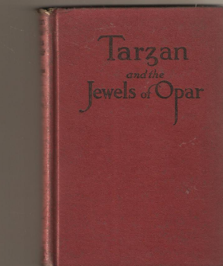 Vintage Book - Tarzan and the Jewels of Opar (1940's)