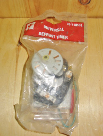 Defrost timer universal