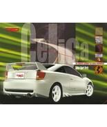 2000-02 TRD Toyota CELICA sport parts accessories brochure catalog folder - $10.00