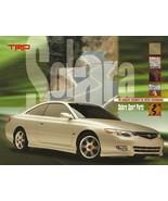 1999-02 TRD Toyota SOLARA parts accessories brochure catalog - $8.00