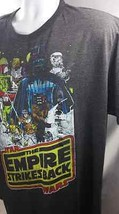 Star Wars Cotton Shirt Jedi Empire Force Sith Dark Black Size XL XLG NWT - $18.95
