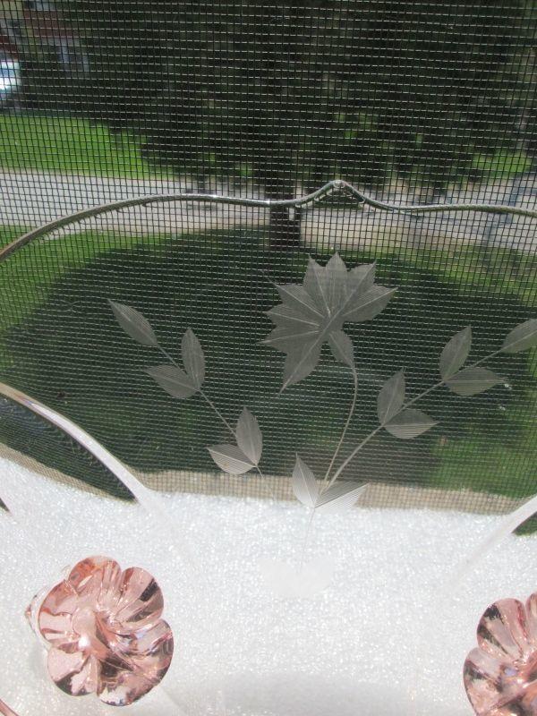 Vintage  Pink Tiffin Depression Glass Breakfast Bowl #8133