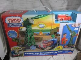 NEW Fisher Price Thomas & Friends RC Motorized Railway Cranky Flynn Save... - $215.00