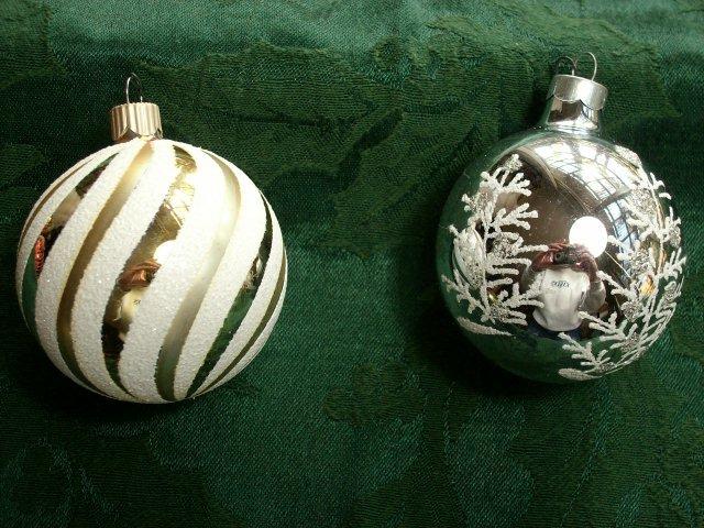 Vintage Set of Ten Christmas Ornaments - Excellent Deal!!