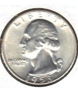 Ch. B.U. 1953 D  Quarter. - €12,75 EUR