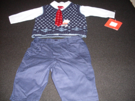 Baby Boy's 3 Piece Dressy Outfit Togs Kidswear Co. Size 3-6 Months - $26.99