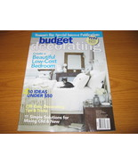 Budget Low Cost Decorating Ideas Magazine - $3.00