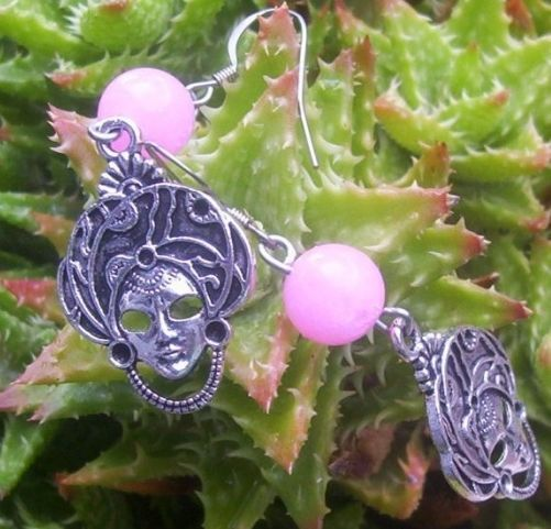 masque pewter drops for earrings & pendants 2 for $10